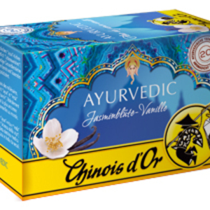 Ayurvedic jasmine vanilla from Chinois d'Or