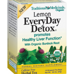 Lemon Everyday Detox Tea from Traditional Medicinals