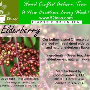 Elderberry Green Tea from 52teas