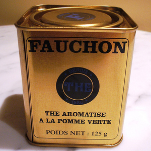 The Aromatise a la pomme from Fauchon