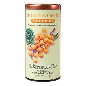 Sea Buckthorn Green Tea from The Republic of Tea