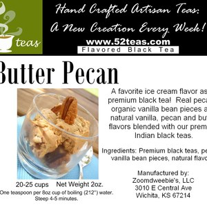 Butter Pecan Black Tea from 52teas