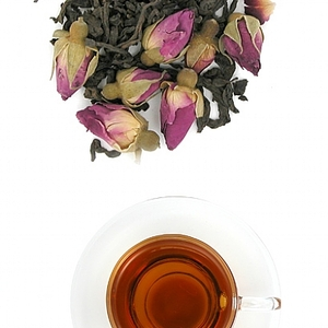 Pu-erh Rose tea from The Tea Farm