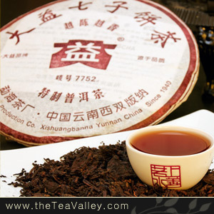 2006 Menghai Dayi Yue Chen Yue Xiang Pu'erh from Tea Valley
