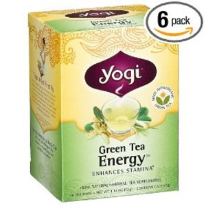 Green Tea Energy from Yogi Tea