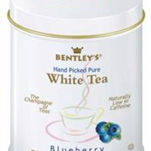 BLUEBERRY FLAVORED 100% PURE WHITE TEA from Bentleys Finest Tea