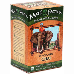 Organic Chai Yerba Mate from Mate Factor