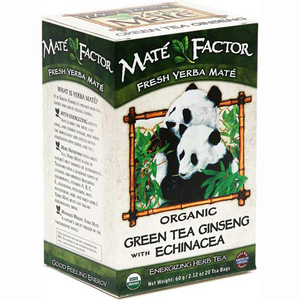 Organic Green Tea Ginseng Mate from Mate Factor