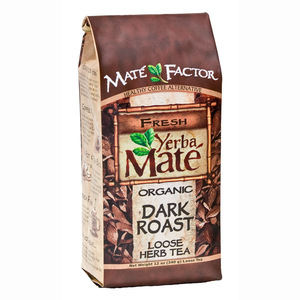 Organic Dark Roast Yerba Mate Loose from Mate Factor