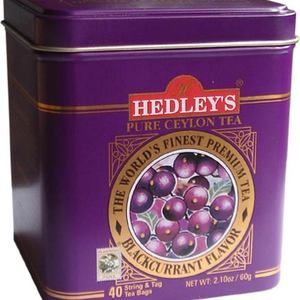 Blackcurrant Flavored Black from Hedley's