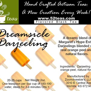Dreamsicle Darjeeling from 52teas