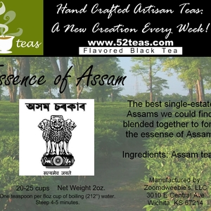 Essence of Assam from 52teas