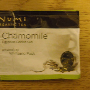 Chamomile Egyptian Golden Sun from Numi Organic Tea