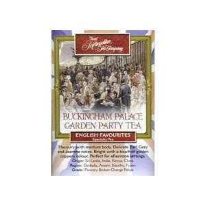 Buckingham Palace Garden Party from Metropolitan Tea Company