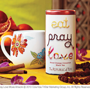 Eat, Pray, Love - Blood Orange Cinnamon Tea from The Republic of Tea