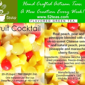 Fruit Cocktail Green Tea from 52teas