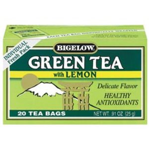 Green Tea with Lemon from Bigelow