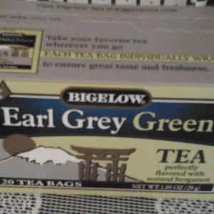 Earl Grey Green from Bigelow