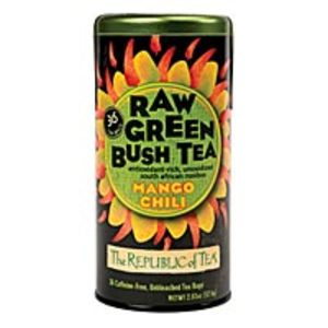 Mango Chili Raw Green Bush Tea from The Republic of Tea