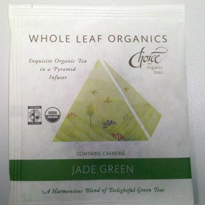 Jade Green from Choice Organic Teas