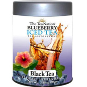 Blueberry Iced Tea - Black Tea from The Tea Nation