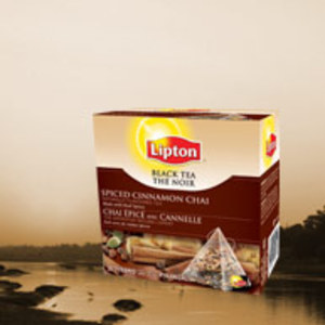 Spiced Cinnamon Chai Black tea from Lipton