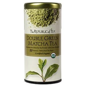 Double Green Matcha Tea (Certified Organic) from The Republic of Tea