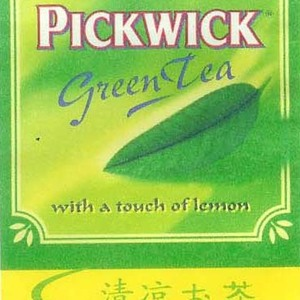 Green Tea - With a Touch of Lemon from Pickwick