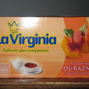 Té con sabor durazno from La Virginia