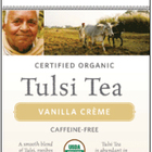 Tulsi Vanilla Crème from Organic India