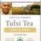 Tulsi Vanilla Crme from Organic India