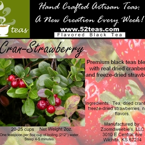 Cran-Strawberry Black Tea from 52teas