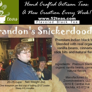 Brandon&#x27;s Snickerdoodle Black Tea from 52teas