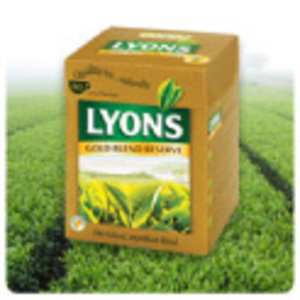 Gold Blend Reserve from Lyons Tea