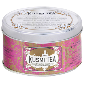Decaffeinated Earl Grey from Kusmi Tea