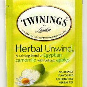 Egyptian Chamomile and Delicate Apple from Twinings