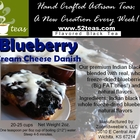 Blueberry Cream Cheese Danish Black Tea from 52teas