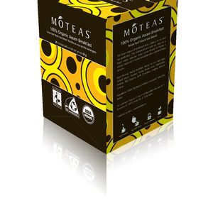 100% Organic Assam Breakfast from MOTEAS