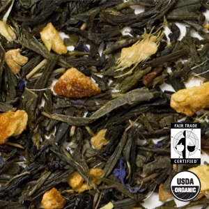 Organic Citrus Ginger Green Tea from Arbor Teas