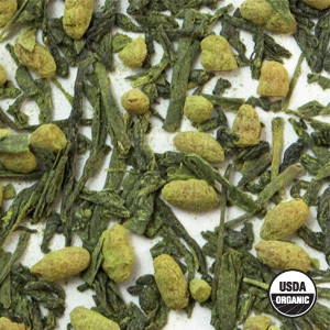 Organic Genmaicha Extra Green Tea from Arbor Teas