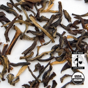 Organic Golden Yunnan Black Tea from Arbor Teas