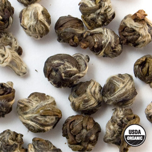 Organic Jasmine Pearl Green Tea from Arbor Teas