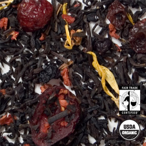 Organic Mixed Berry Black Tea from Arbor Teas