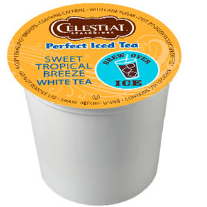 Sweet Tropical Breeze Iced White Tea K-Cup from Celestial Seasonings