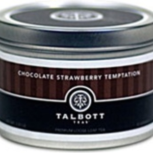 Chocolate Strawberry Temptation from Talbott Teas