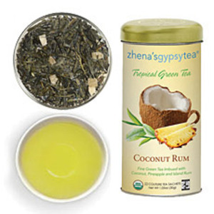 Coconut Rum Tropical Green Tea from Zhena's Gypsy Tea