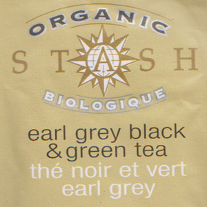 Organic Earl Grey Black and Green from Stash Tea Company