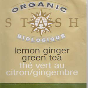 Organic Lemon Ginger Green from Stash Tea Company