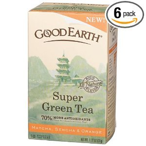Super Green Tea from Good Earth Teas