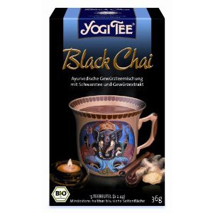 Black Chai from Yogi Tee